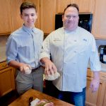 Chef Makes Family Main Course