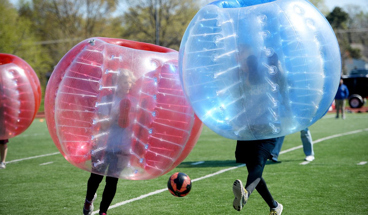 Hillcrest's Bubble Soccer Tournament 5