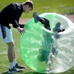 Hillcrest's Bubble Soccer Tournament 4