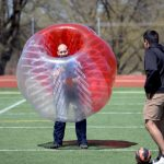 Hillcrest's Bubble Soccer Tournament