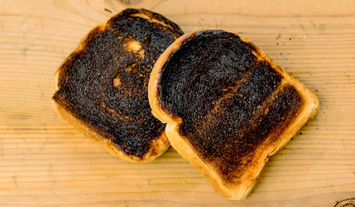 Burnt Toast for Dad