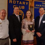 Students Recognized by the Rotary Club of Parker 1
