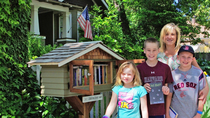 Little Free Libraries: Coming to a Yard Near You 5