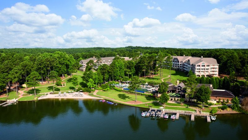 Un-Roughing it at Reynolds Lake Oconee 6