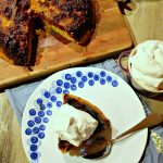 Blackberry and Cornmeal Upside Down Cake