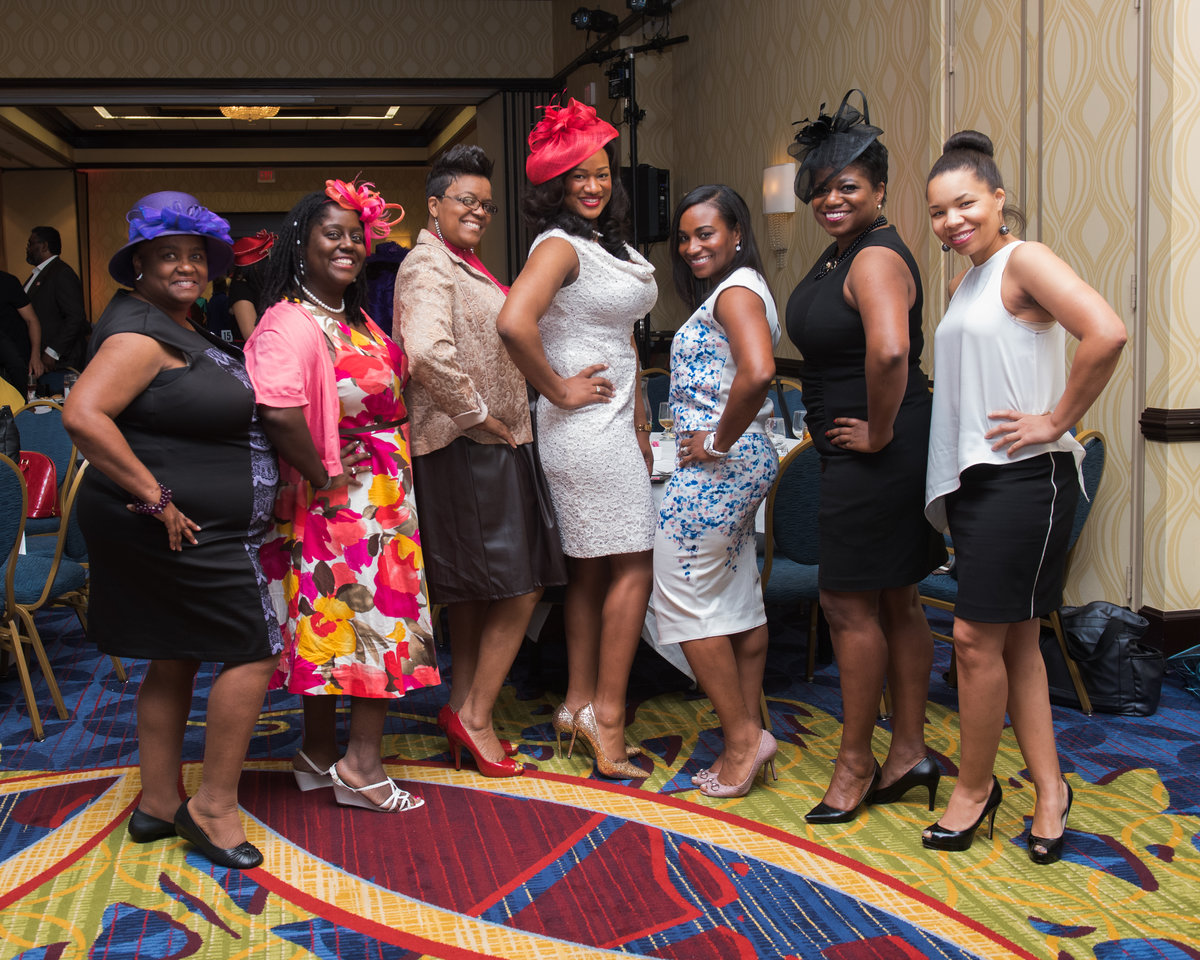 Atlanta Suburban Alumni Chapter of Delta Sigma Theta Sorority, Inc. present Annual Mad Hatters Scholarship Luncheon and Fashion Show 11