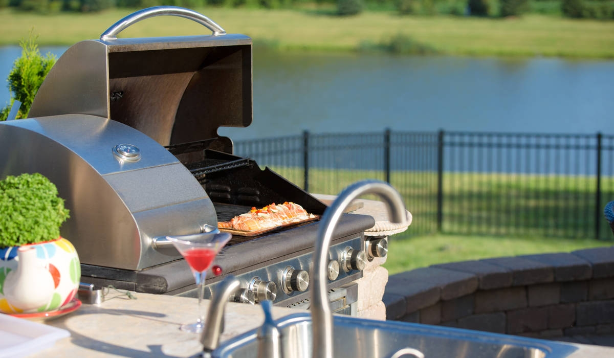Outdoor Kitchens Add Fun, Function