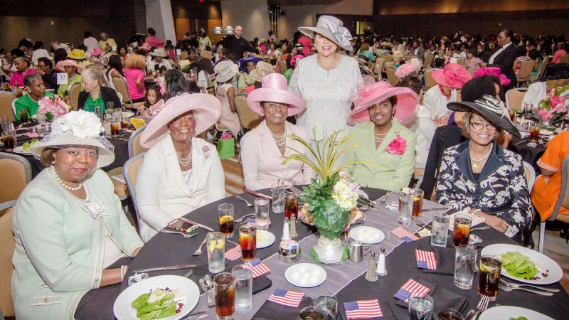 "Pearls of Purpose Foundation, Inc. Hosts 29th Annual Mother-Daughter Luncheon ""First in Service Honoring Military Women Launching New Dimensions of Service"" 9"