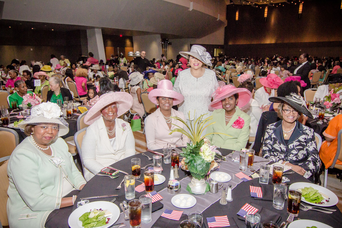 """Pearls of Purpose Foundation, Inc. Hosts 29th Annual Mother-Daughter Luncheon """"First in Service Honoring Military Women Launching New Dimensions of Service"""" 9"""