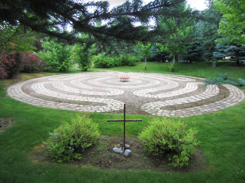Walking the Labyrinth in No Name 8