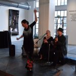 Spanish Flamenco night at Walker Fine Art 2