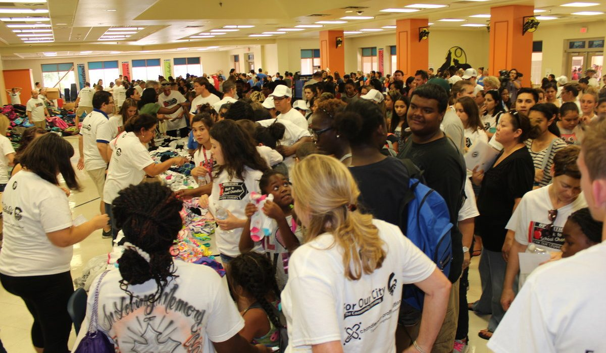 Operation Back To School Chandler a Huge Success 6