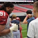 Voices for CASA Children's Arizona Cardinals Training Camp 3