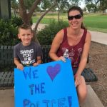 Residents Support Chandler Police Officers 5