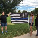 Residents Support Chandler Police Officers 3