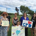 Residents Support Chandler Police Officers 2