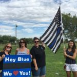 Residents Support Chandler Police Officers 1