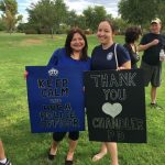 Residents Support Chandler Police Officers