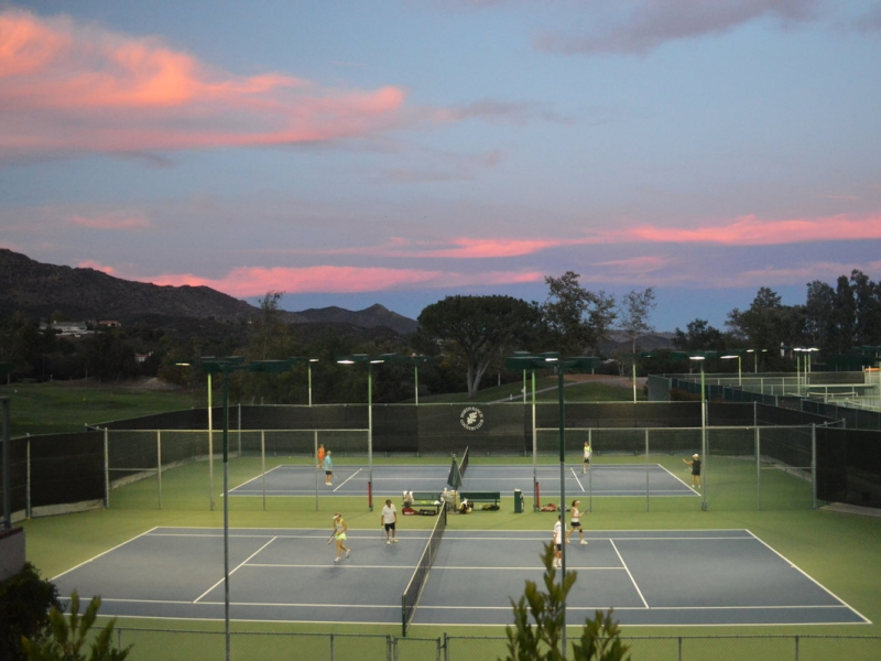 Tennis Pros Create a Program to Love at North Ranch Country Club 7