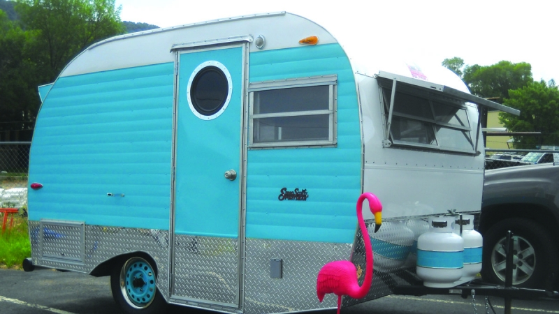 Scotty Trailer Gets a Makeover 8