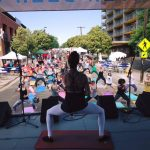 Pure Barre at the Highlands Street Fair 1