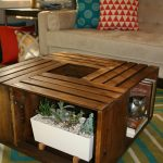 DIY Wooden Wine Crate Coffee Table 8