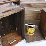 DIY Wooden Wine Crate Coffee Table 4
