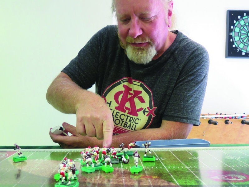 The Battle for Grid-Iron Glory in the Kansas City Electric Football League 7
