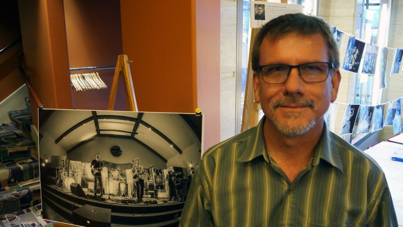 Gary Calicott Photography Exhibit at Tower Theatre 9