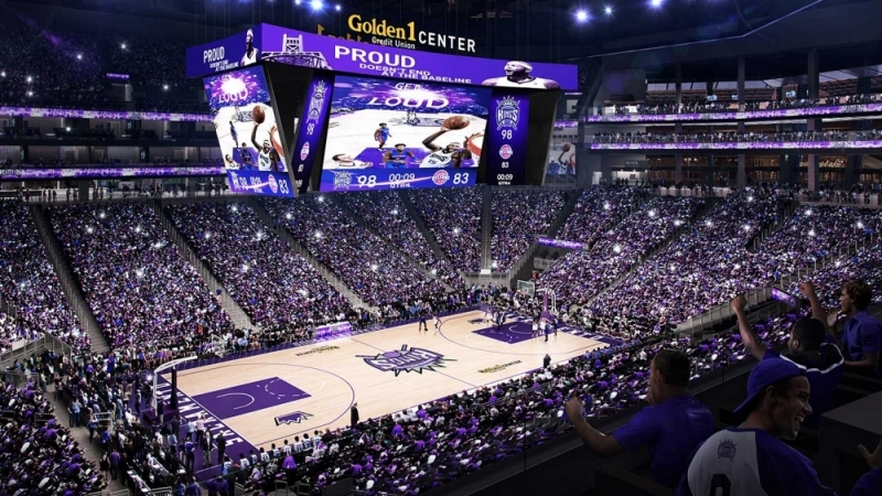 Downtown's Long Anticipated Golden One Center Comes to Life 10