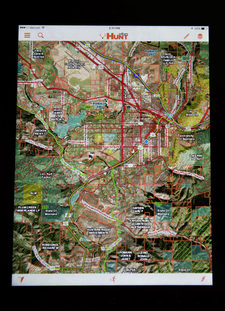 All About The Data Missoula Valley Lifestyle Magazine - Onx map app