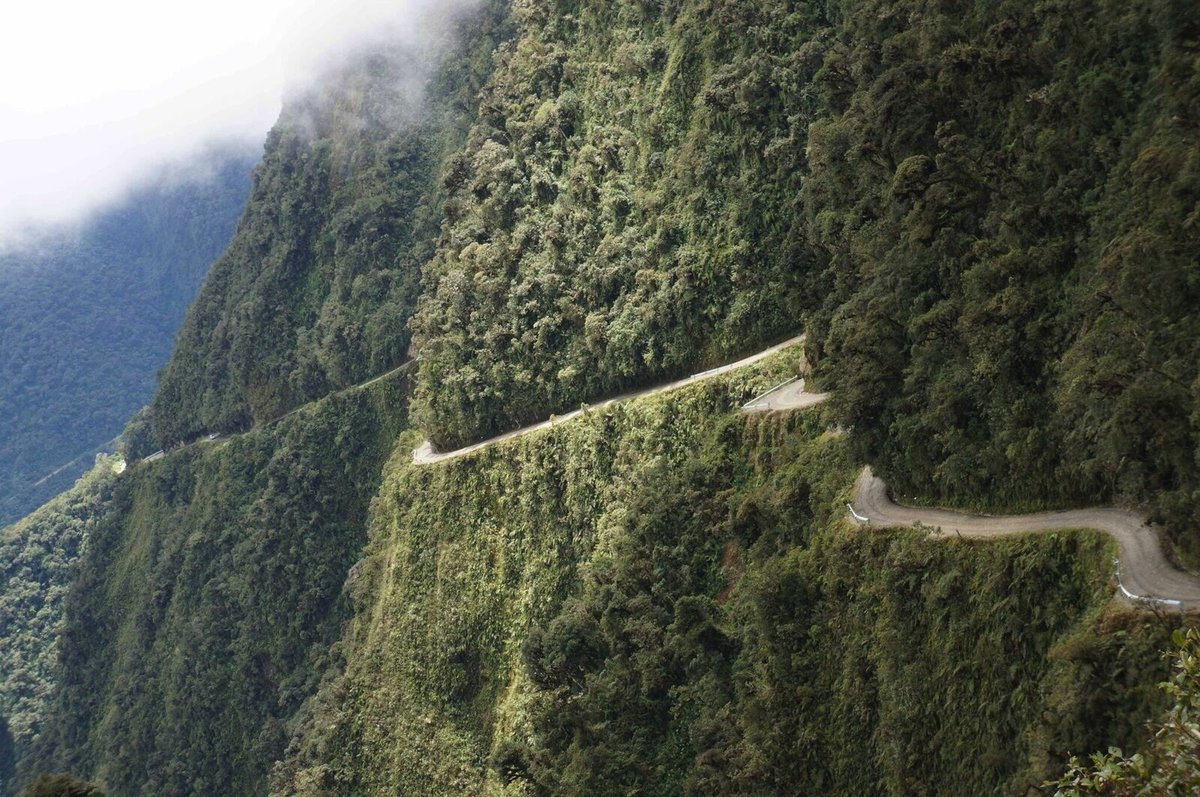 "Biking Down Bolivia's ""Death Road"" 5"