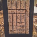 DIY Wine Cork Board 1