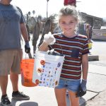 Kaminskiy Cares Cleans Up San Elijo Beach 5