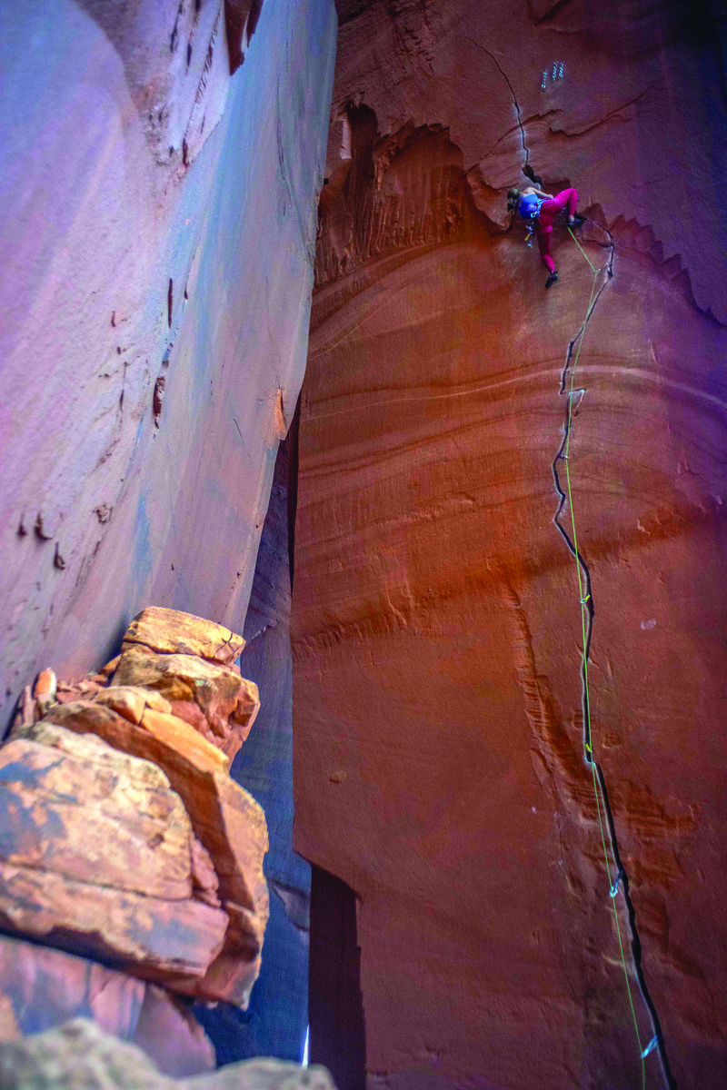 Snow and Ice Climber Mary Harlan Thrives at the Edge 4