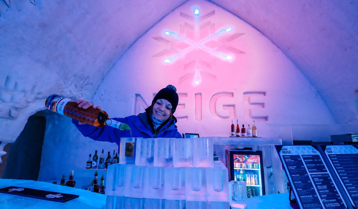 A Night at Quebec City's Ice Hotel 8