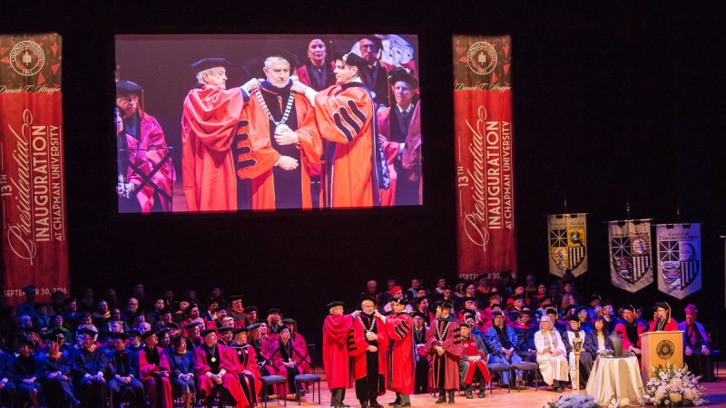 Chapman University Inaugurates a New President