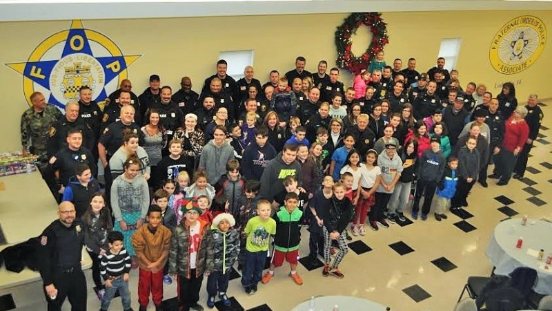 Caring Cops & The Christmas Spirit 1