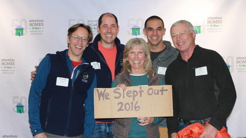 Attention Homes Annual Sleep Out 2