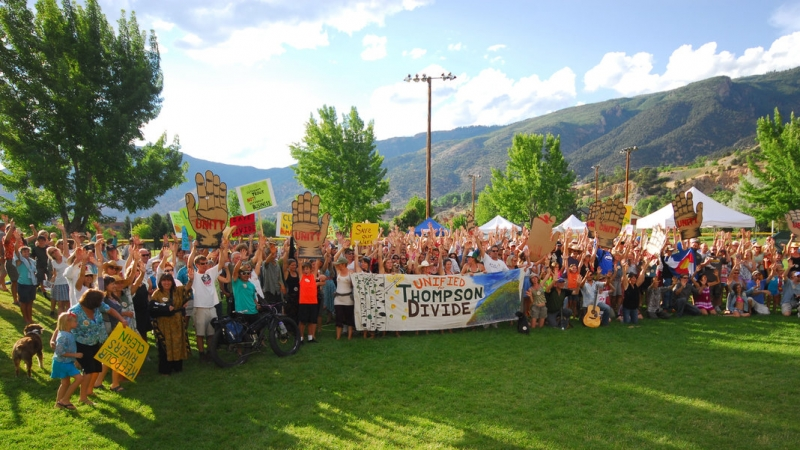Locals Celebrate Thompson Divide Lease Cancellations 10