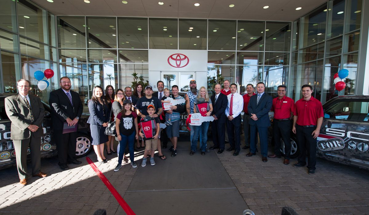 Toyota Pays off Vehicles for Three Local Soldiers 3