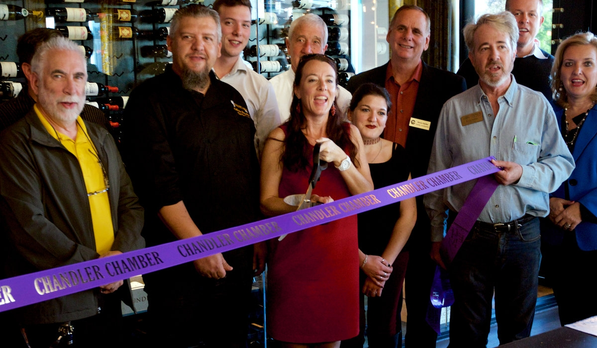 Cuisine & Wine Chandler Ribbon Cutting Event 2