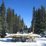 Sunlight-Powderhorn Trail Maintained by Local Snowmobile Club 7