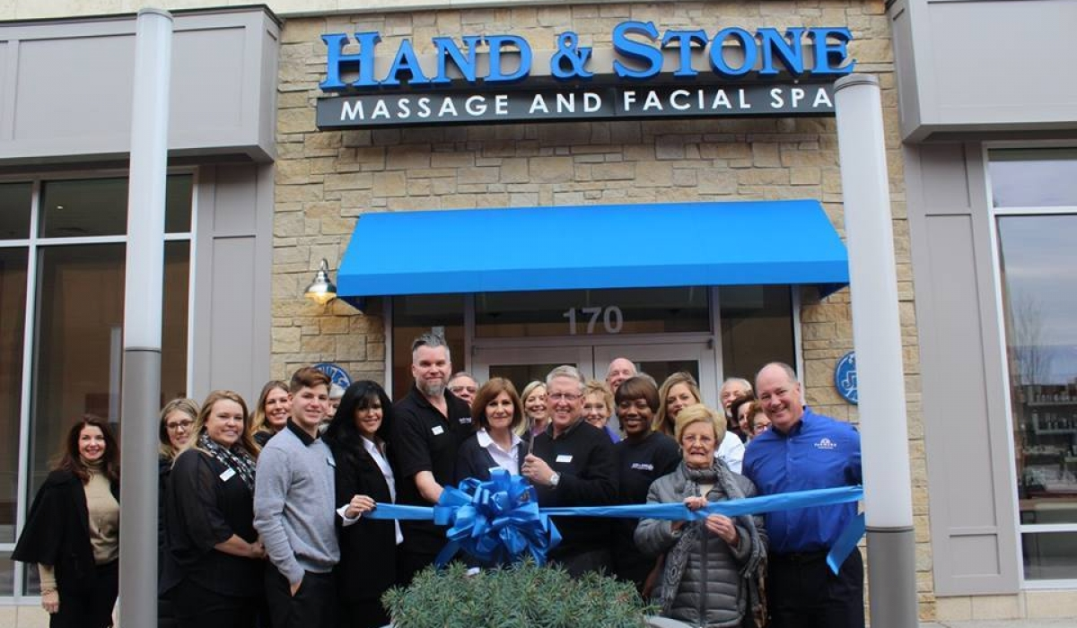 Hand & Stone Spa Ribbon Cutting Ceremony 5