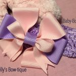 "Nelly's Inspirational Handcrafted ""Bows of Hope""  8"