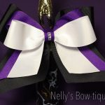 "Nelly's Inspirational Handcrafted ""Bows of Hope""  6"