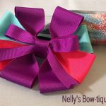 "Nelly's Inspirational Handcrafted ""Bows of Hope""  5"