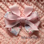 "Nelly's Inspirational Handcrafted ""Bows of Hope""  1"