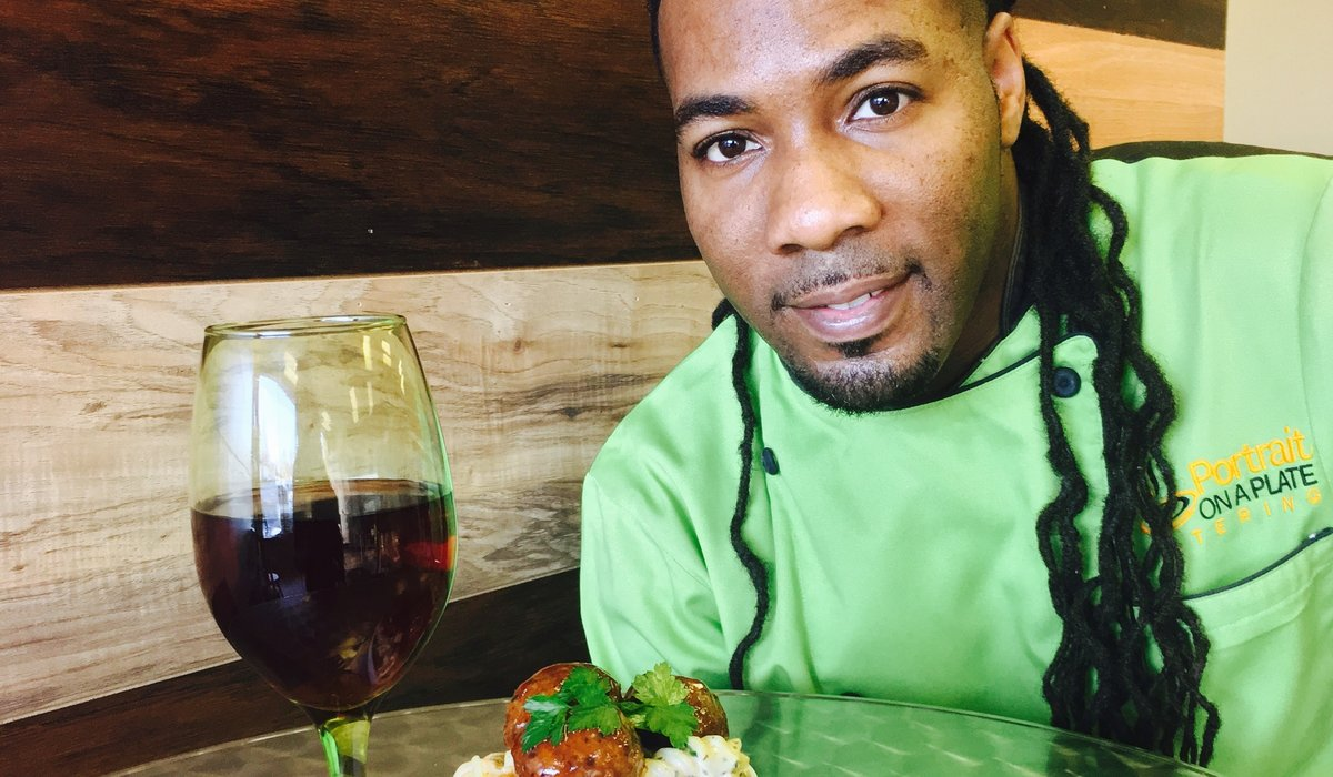 Create a Portrait on a Plate with Chef Mark Davis Jr. 2