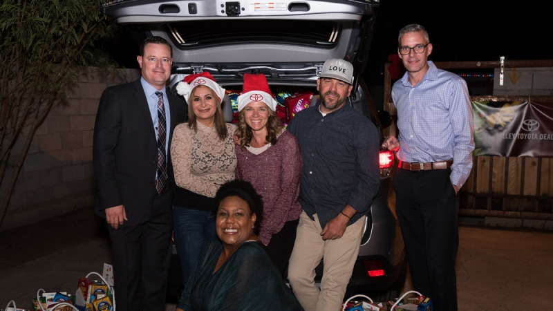 Live Love and Valley Toyota Dealers Holiday Party 5